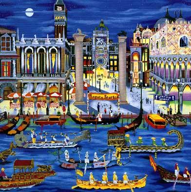 Linnea Pergola Venice Regatta At Art Gallery Plus